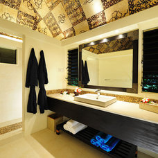 Tropical Bathroom by Exclusive Tiles