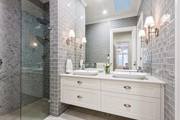 Traditional Bathroom by Castella Fine Architectural Hardware