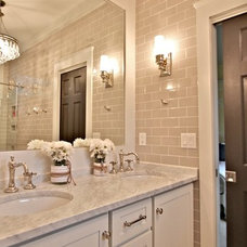Craftsman Bathroom by Vonderhaus
