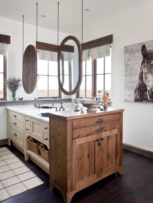 landhausstil badezimmer mit granit waschtisch ideen f r die badgestaltung. Black Bedroom Furniture Sets. Home Design Ideas