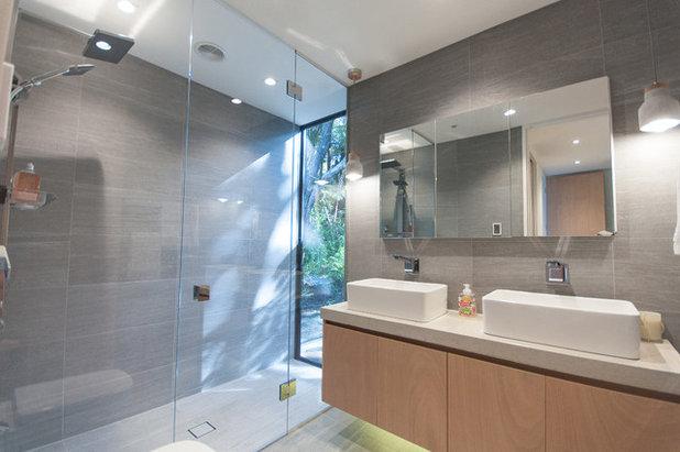 Contemporary Bathroom by Haven Renovations