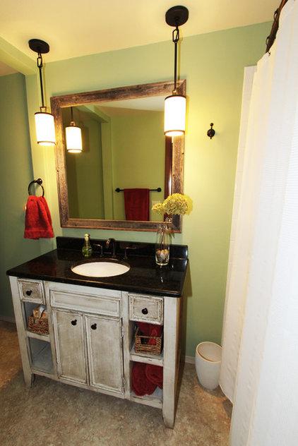 Eclectic Bathroom by SE Interior Design, Inc