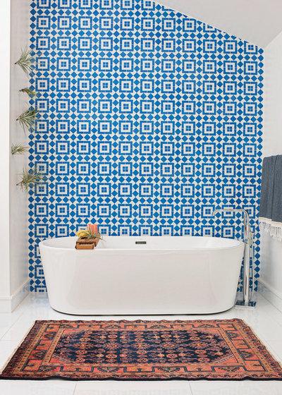 Contemporary Bathroom by Regan Baker Design Inc.