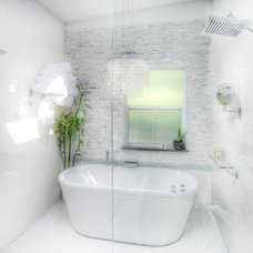 Contemporary Bathroom by Smoke & Powder Design Inc.