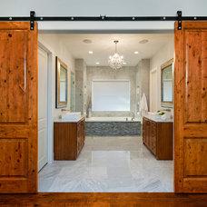 Traditional Bathroom by Bravo Interior Design