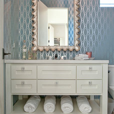 Contemporary Bathroom by Glynis Wood Interiors