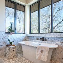 modern bathroom by Cornerstone Architects