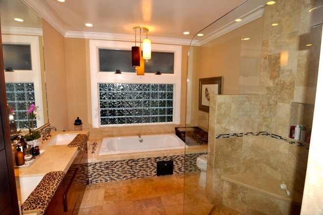 Contemporary Bathroom by Kerrie L. Kelly