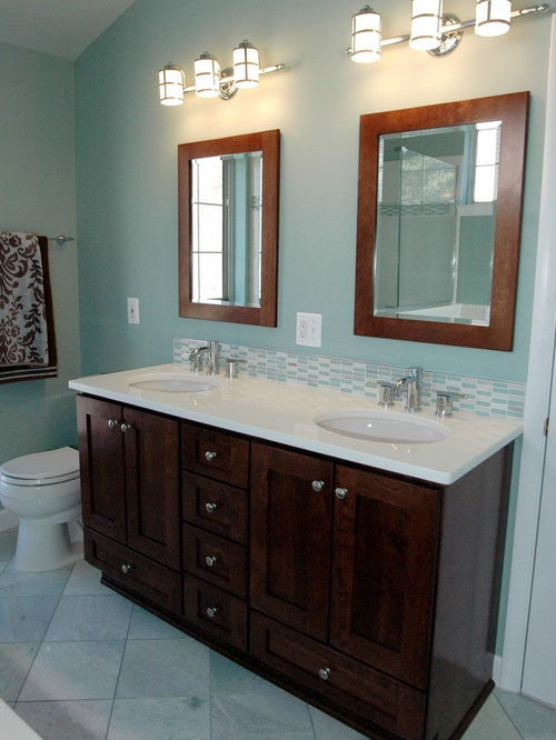 Contemporary cabinets bertch legacy in mocha home design for Bertch kitchen cabinets review