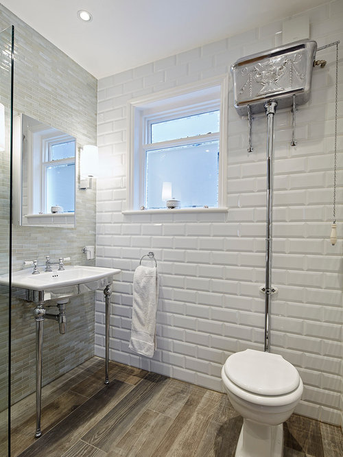 inspiration for a medium sized classic bathroom in london with a two piece toilet