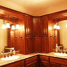 Traditional Bathroom by Meier Custom Built Homes, LLC