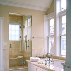 traditional bathroom by Hamilton Snowber Architects