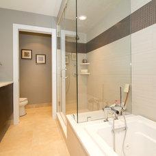 Contemporary Bathroom by Amanda Alligood