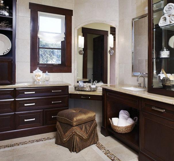 Mediterranean Bathroom by CDA Interior Design