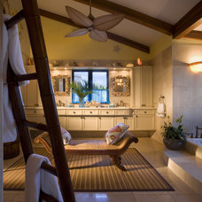 Tropical Bathroom by Dan Forer, Photographer