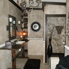 Mediterranean Bathroom by Faux Interiors & Interior Design