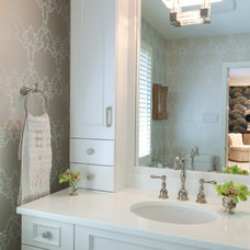 Transitional Bathroom by Emerald Hill Interiors