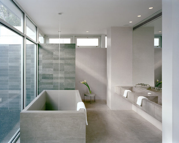 Modern Bathroom by Audrey Matlock Architect