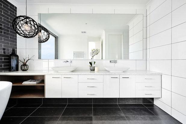Современный Ванная комната by Carter Grange