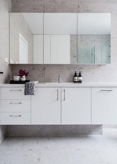 Contemporary Bathroom by Suzi Appel Photography