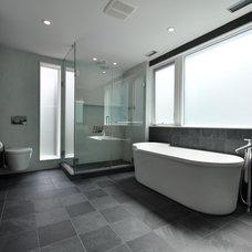 Modern Bathroom by CARIB DANIEL MARTIN architecture and design llc