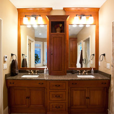 Traditional Bathroom by Ascent Custom Homes