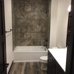 Craftsman Laminate Floor Bathroom