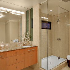 contemporary bathroom by knowles ps