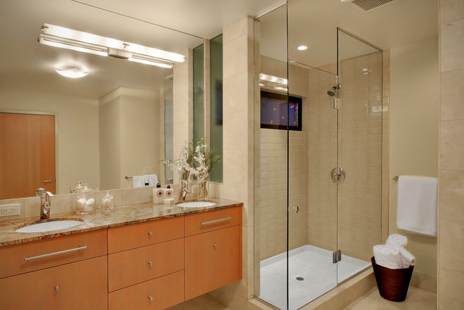 Contemporary Bathroom by Michael Knowles, Architect