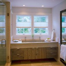Beach Style Bathroom by Hutker Architects