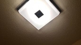 Ceiling Light/Vent Installation