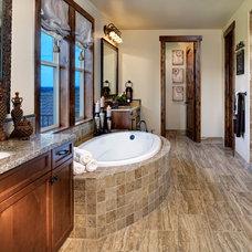 Traditional Bathroom by Guy's Floor Service Inc.