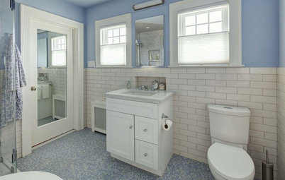 Bathroom of the Week: Lighter, Brighter and Blue
