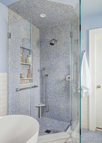 Fusion Bathroom by Tracey Stephens Interior Design Inc