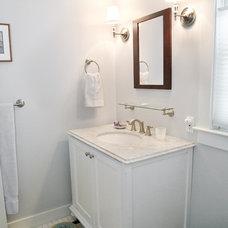 Traditional Bathroom by Celia Bedilia