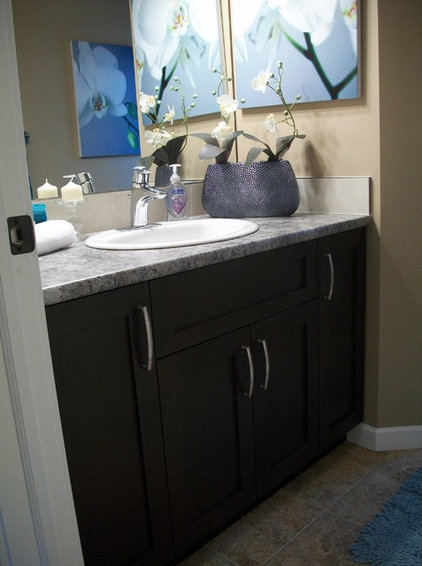 Traditional Bathroom by Michelle Yaworski – Gem Cabinets Ltd