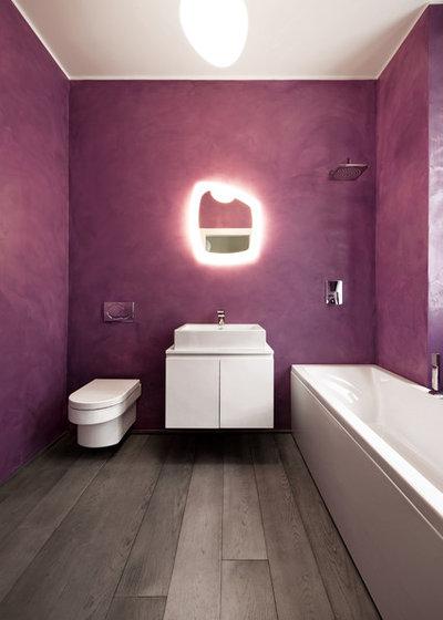 Contemporary Bathroom by Carola Vannini Architecture