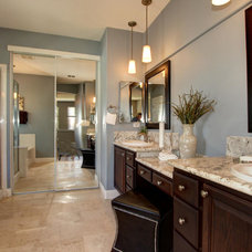 Transitional Bathroom by Ultimate Designs