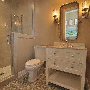 Cement Tile Guest Bath