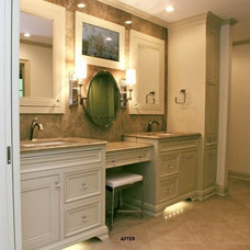 Traditional Bathroom by NJW Construction