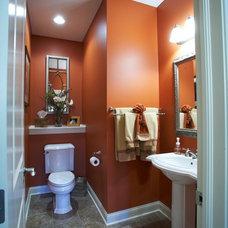 Traditional Bathroom by Fine Designs & Interiors, Ltd.