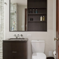 Contemporary Bathroom by Lauren Rubin Architecture