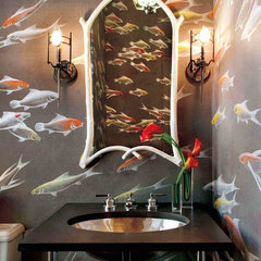 contemporary bathroom by David Scott Interiors