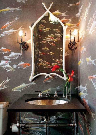 Contemporary Bathroom by David Scott Interiors