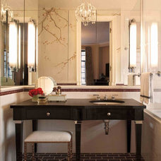 Traditional Bathroom by David Scott Interiors