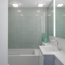 Contemporary Bathroom by Rusk Renovations