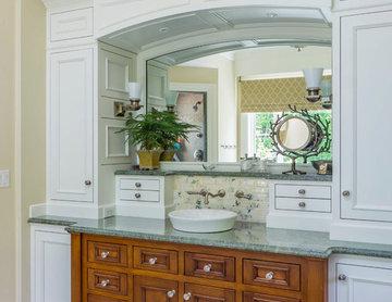 Certified Luxury Builders - E.W. Tarca - Shingle Style Custom Home