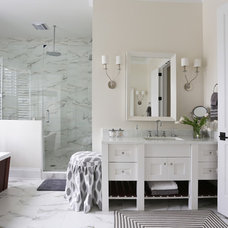 Contemporary Bathroom by Charleston Home + Design Mag