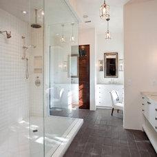 Contemporary Bathroom by Charleston Home + Design Mag