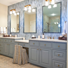 Traditional Bathroom by Charleston Home + Design Mag